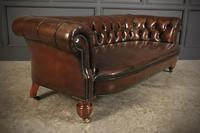 Victorian Hand Dyed Buttoned Leather Chesterfield Sofa (7 of 14)