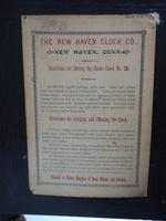Amazing New Haven mantle clock 8 Day Westminster Chime Bracket Clock Very Rare (10 of 10)