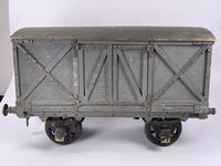 """Early 20th Century Wooden 3"""" Gauge Wagon (7 of 13)"""