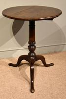 18th Century Oak Tripod Table (3 of 5)
