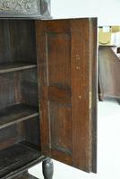 Antique Large Dark Oak Cupboard (12 of 13)