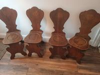 Set of Four Victorian Hall Chairs (3 of 4)