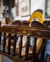 Fabulous Edwardian Inlaid Armchair (4 of 5)