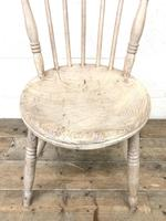 Pair of Rustic Antique Penny Chairs (5 of 9)
