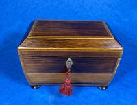 Regency Rosewood Twin Section Tea Caddy (10 of 12)