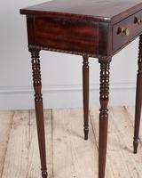 Regency Mahogany Side Table (2 of 7)
