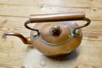 Charming 19th Oval Century Copper Kettle (3 of 9)