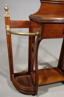 Good Early 20th Century Oak Hall Stick Stand (4 of 5)