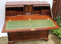 1960s Large Well Fitted Mahogany Bureax with Secret Drawer (2 of 6)