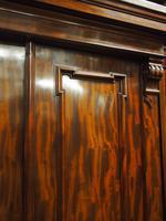 Victorian Mahogany 3 Door Wardrobe (4 of 8)