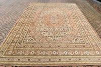 Antique Tabriz roomsize carpet 378x270cm (5 of 6)