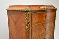 Antique French Inlaid Kingwood Secretaire Bureau Chest (10 of 11)