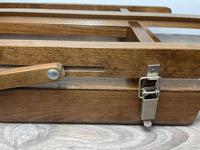 Mid 20th Century Artists Studio Tabletop Easel with Carry Handle & Drawer (21 of 28)