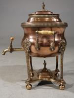 Handsome & Original Regency Period Copper Tea Urn (3 of 5)