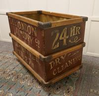 London Laundry Co. Industrial Trolley Cart (3 of 5)