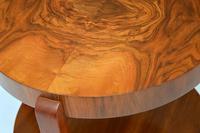 1920's Art Deco Period Walnut Coffee Table (2 of 7)