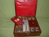 Unusual Georgian Fitted Gentleman's Dressing Box + Accessories.c1815 (5 of 18)