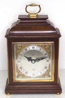 Perfect Vintage Mantel Clock Caddy Top Bracket Clock by Elliott of London Retailed by Malory of Bath (4 of 12)