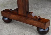 Superb Quality Regency Rosewood Library Table / Desk / Hall Table (6 of 7)