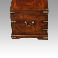 Victorian Small Brass Bound Campaign Chest (5 of 9)