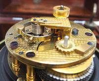 Original Thomas Mercer 2-day Marine Chronometer Ships Clock– Chain Fusee Earnshaws Detent Escapement Box & Key (12 of 14)