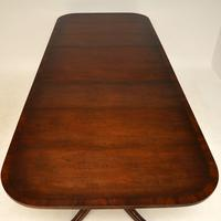 Antique Regency Style Mahogany Extending Dining Table (5 of 11)