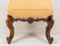 Good Rosewood Victorian Stool (6 of 7)