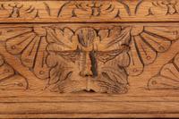 Raw Oak Sandblasted Side Table (9 of 11)