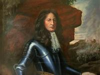 Huge Oil Portrait Painting 'King William III' After Sir Peter Lely (4 of 13)