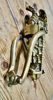 Large Victorian Brass Eagle Door Knocker (5 of 5)