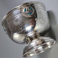 Rare Arts & Crafts Liberty & Co HM Silver & Enamel Cymric Bowl c.1905- Signed (5 of 14)