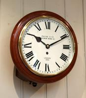 Mahogany 10' Fusee Dial Clock (12 of 12)