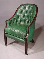Good & Original George III Period Mahogany Library or Desk Chair