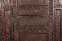 Carved Oak Hall Cupboard (2 of 15)