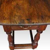 Large Antique Oak Gateleg Dining Table (12 of 13)