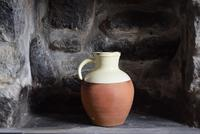 Large  Early 20th Century West-Country Slipware Pitcher (7 of 10)