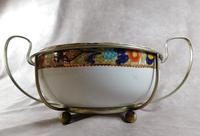 "Wood & Sons ""Woods Ware"" Fruit Bowl in Silver Plated  Holder (2 of 5)"