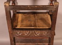 Good 17th Century Wainscot Armchair (11 of 13)