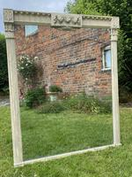 Large Painted Overmantel Mirror (6 of 6)