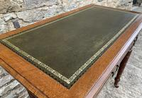 Antique Victorian Walnut Writing Table Desk (5 of 17)