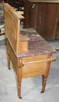 Satin Walnut Marble Top Washstand - 1920s (3 of 4)