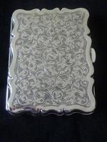 Solid Silver Aide Memoire Birmingham 1898 slight A/F (3 of 8)