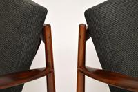 1960's Pair of Danish Rosewood Armchairs by Grete Jalk (2 of 12)