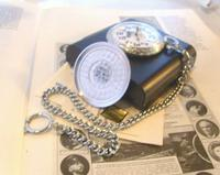 Vintage Pocket Watch 1970s Railroad 9ct White Gold Plated Swiss & West Germany Nos (11 of 12)