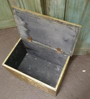 Embossed Brass Log or Coal Box, or Slipper Box with Tavern Scenes (5 of 6)
