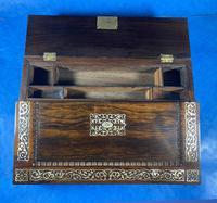 William IV Rosewood Lap Desk (16 of 18)
