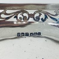 Antique Solid Sterling Silver Bon Bon Dish (9 of 12)