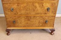 Burr Walnut Chest of Drawers c.1930 (6 of 12)