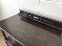 Antique Oak Three Tier Sideboard (7 of 12)
