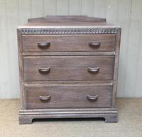 Limed Oak Chest of Drawers (7 of 9)